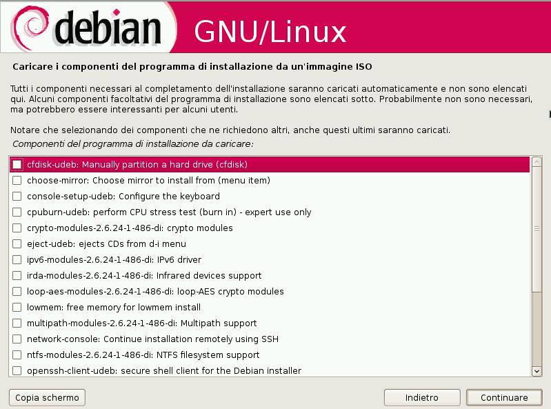 Debian USB bootable installer