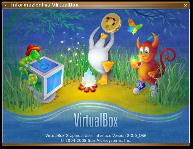 informazioni su virtualbox 2.0.6