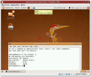 ubuntu-8.04.2 in virtualbox-ose